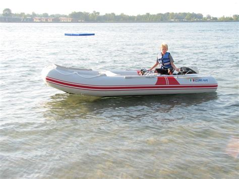 Inflatable Motor Boat by 12 Am365 Azzurro Mare Inflatable Motor Boats Italian