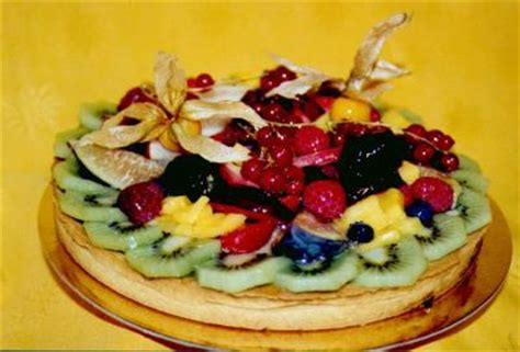 tarte aux fruits decoration de patisserie