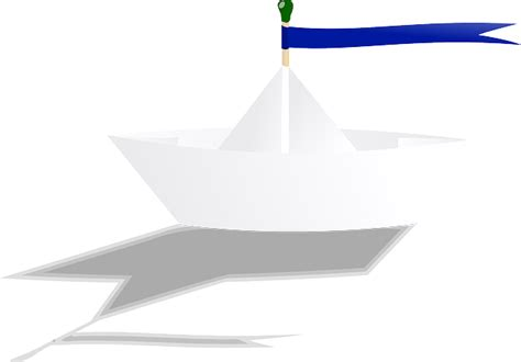 Paper Boat Drinks How To Use by Free Vector Graphic Boat Paper Folded Toy Origami