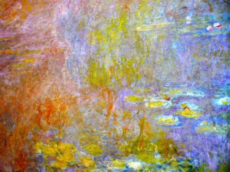 panoramio photo of water lilies by claude monet tate modern gallery in uk