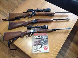 My modest collection of Ruger Number 1's - 22-250 / .303 ...
