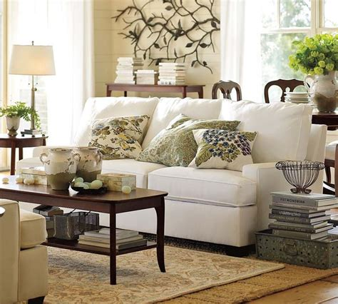 pottery barn living room image search results