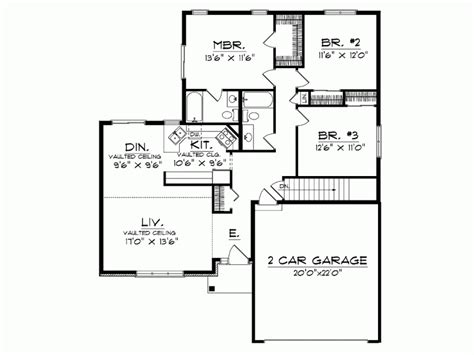house plan 1 story modern house plans vdomisadinfo modern one story house floor plans simple one story houses