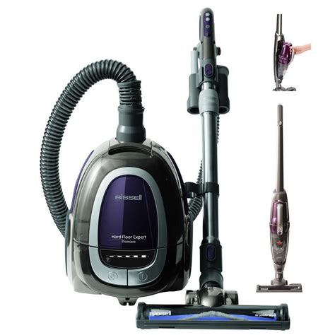 bissell floor expert combo canister vacuum and 14 4v cordless stick vac lowe s canada