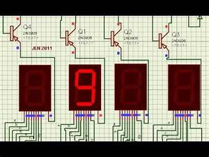 My First 7 Segment Project (Multiplexing Display) - YouTube
