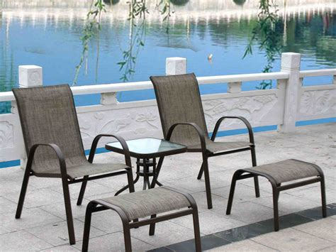 patio furniture with 2 ottomans china patio furniture outdoor ottomans