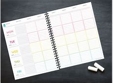 lesson planner template Sweet Paper Trail