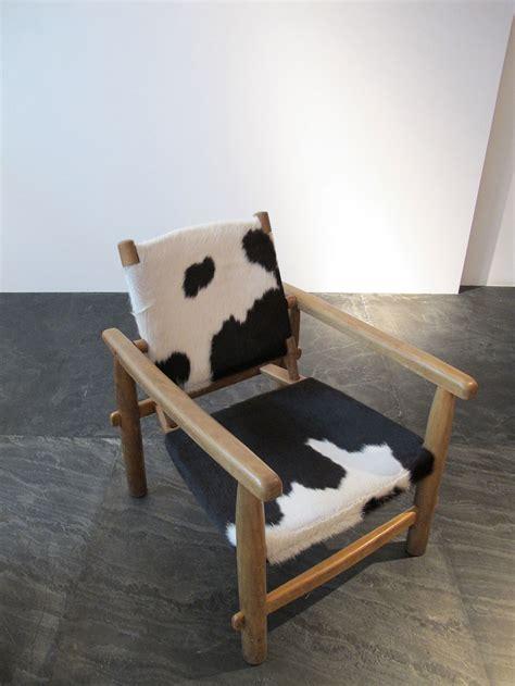 galerie downtown fauteuil en peau de vache 1955 galerie downtown