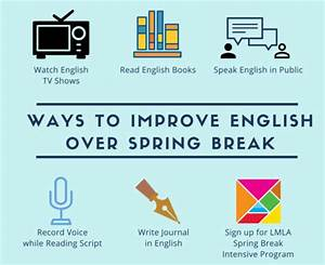 Improve English over Spring Break | Little Mountain ...