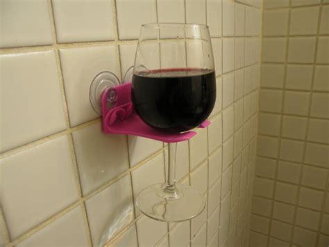 3d Printed Bathtub Wine Glass Holder Isn't Going Anywhere