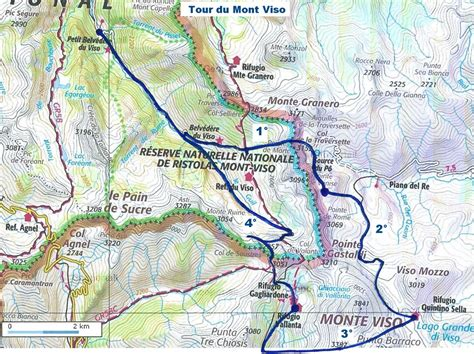 randonn 233 es itin 233 rantes 224 pieds en v 233 lo en raquette 224 ski tour du mont viso