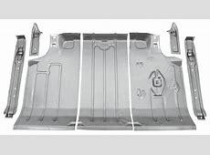 196467 Cutlass442 Trunk Pan Kits, Steel 7Piece OPGIcom