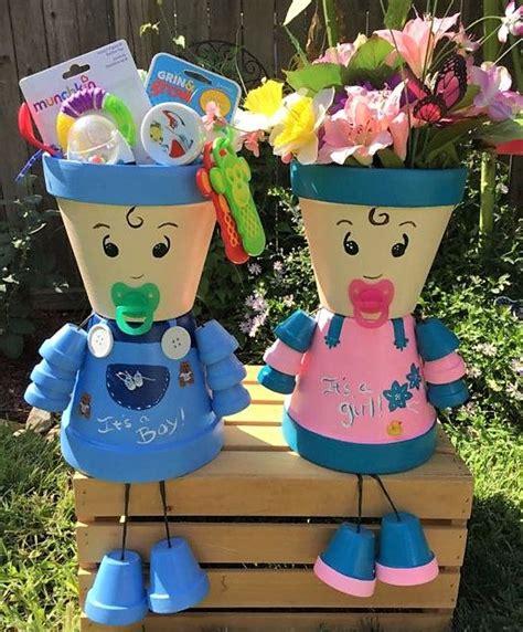 cr 233 ations personnages en pots de fleurs