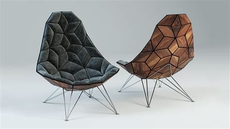 Ox Chair 3d Model by 3d Modeling How To The Jsn Tiles Chair 3d