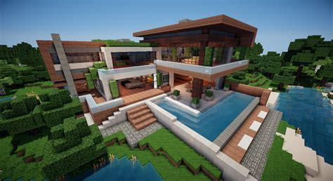 minecraft modern villa v 1 8 maps mod f 252 r minecraft modhoster