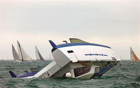 Outremer Catamaran Capsize catamaran sailing part 7 capsize yachting world