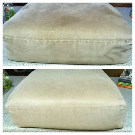 decided to clean my microfiber cushions today found