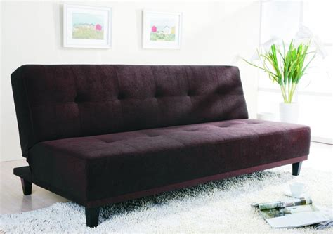 sofas modern minimalist black color cheap sofa bed