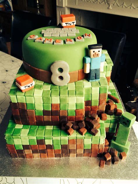 minecraft birthday cake birthday ideas