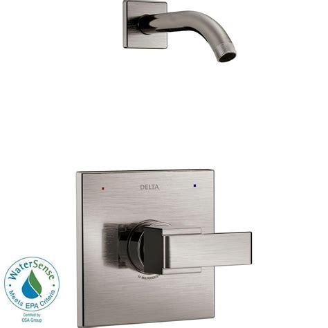delta dryden 1 handle h2okinetic shower only faucet trim