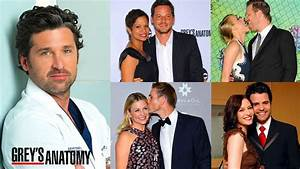 Real Life Couples of Grey's Anatomy - YouTube