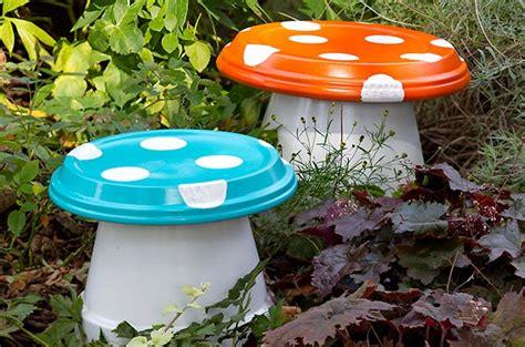 Diy Garden mushrooms  Backyard Projects  Birds & Blooms
