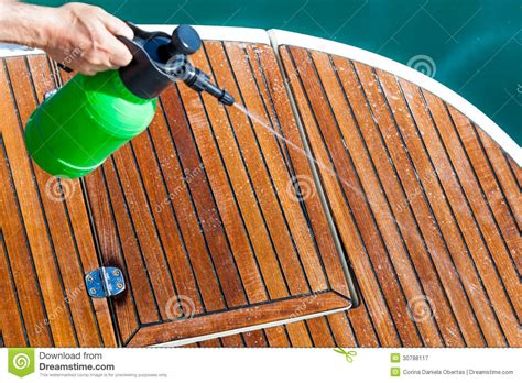 cleaning deck royalty free stock photography image 30788117