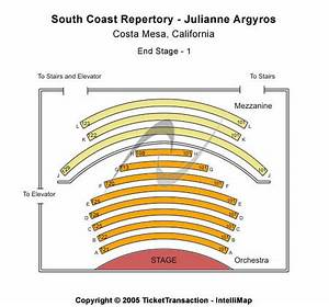 South Coast Repertory - Julianne Argyros Tickets and South ...