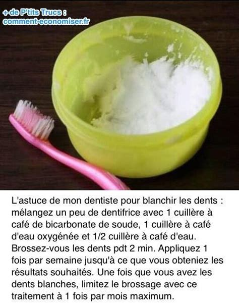 l astuce d un dentiste pour blanchir les dents rapidement comment et hauts