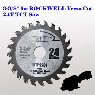 mtp 6x 3 3 8 quot inch metal wood tile saw blade for rockwell versacut rk3440k arbor size 15mm 19 32 quot