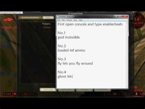 killing floor console commands