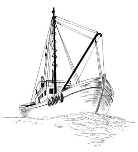How To Draw A Old Boat by Jed Alexander Drawing A Fishing Boat How Do You Draw A