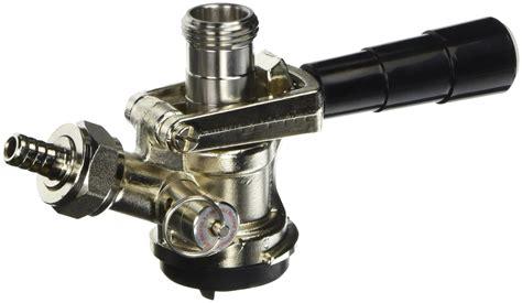 kegco kc kt85d l keg coupler d system tap lever handle black
