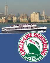 Round Manhattan Boat Trip by Sightseeing Tours In New York Bus Boat Bycycle