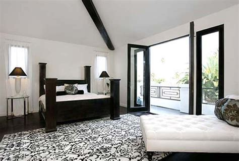 Black And White And Green Bedroom D Lanna Decoration D