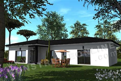 plan de maison moderne malaga