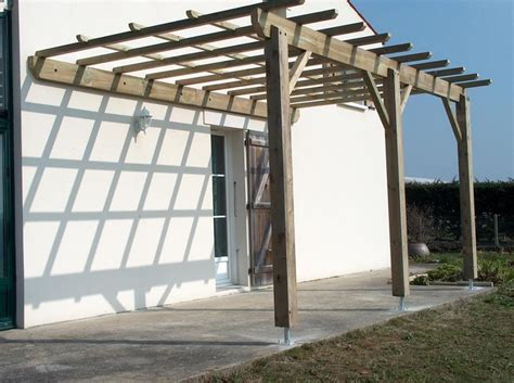 pergola bois maison inspi pergolas and construction