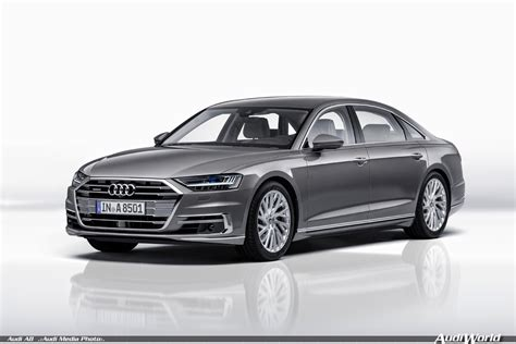 The All New 2018 Audi A8 And A8l Audiworld