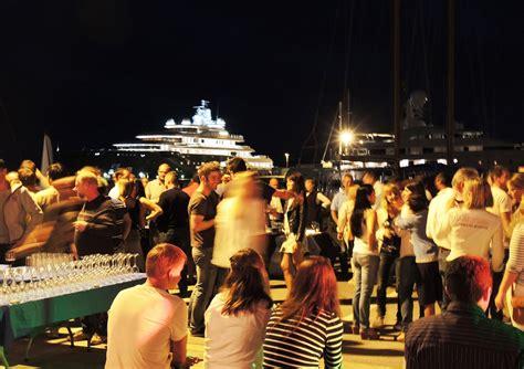 Boat Crew In Spanish by Vilanova Crew Party At Vilanova Grand Marina Positioned In