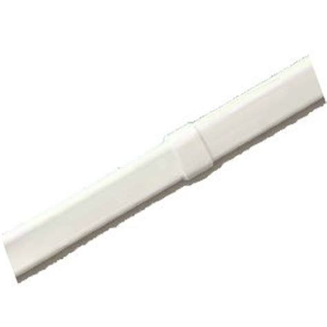 lock seam curtain rod extender 4 270 1 white european textiles