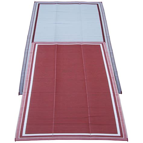 fireside patio mats cranberry 9 ft x 12 ft
