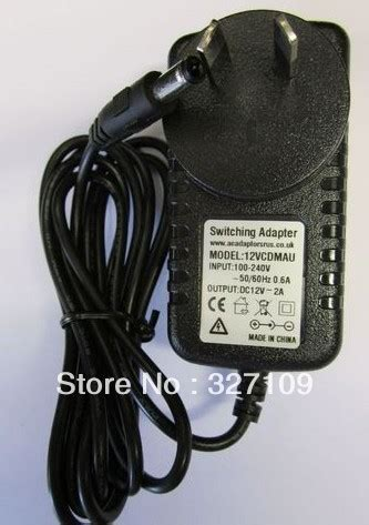 12v 2a ac dc power supply adapter wall charger replace for pyramat s1500 gaming chair in charger