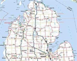 Detailed Map Of Michigan Pictures to Pin on Pinterest ...