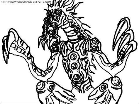 9 dessins de coloriage yu gi oh monstre 224 imprimer