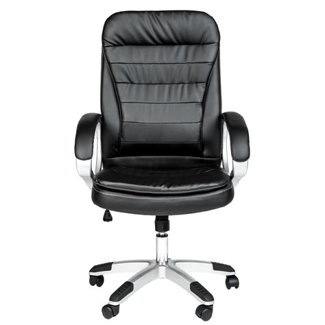 high quality executive high back computer desk office chair padded ebay