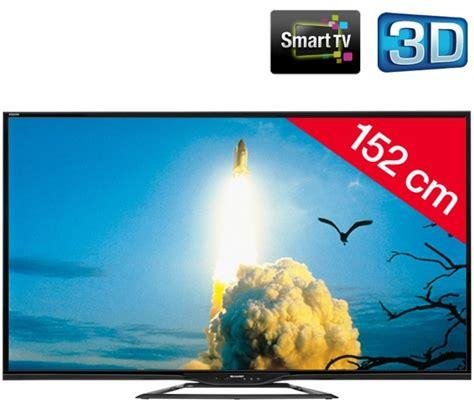 sharp aquos lc 60le651emk2 tv led 3d pas cher pixmania ventes pas cher