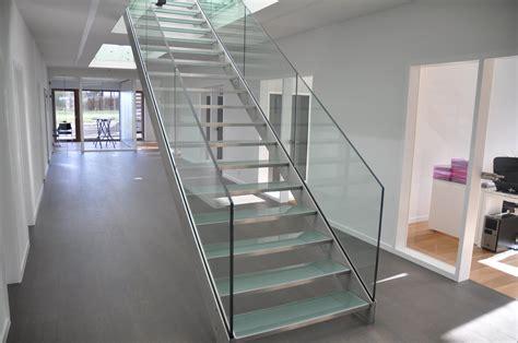 escalier en verre s 233 28 images escaliers marches verre ets bertrand escalier maison bois