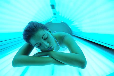 is it safe to use tanning beds while