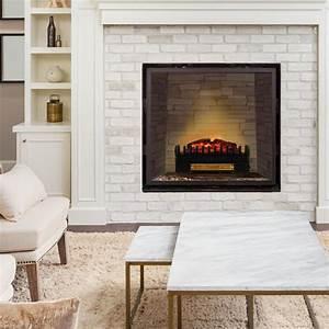 Kamin Neu Verkleiden : kamini fx electric fireplace fireplace insert 1000 2000w 2w led black klarstein ~ Markanthonyermac.com Haus und Dekorationen