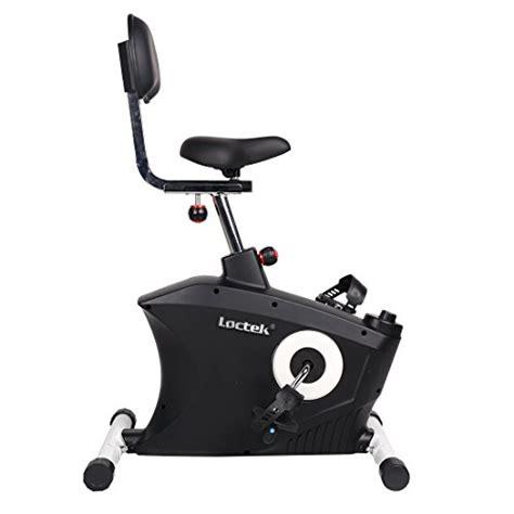 loctek u2 fitness desk magnetic recumbent bike with back rest